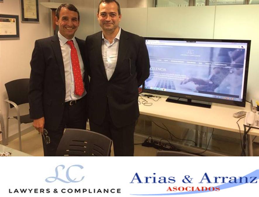 Acuerdos comunes: Arias & Arranz Asociados y Lawyers & Compliance